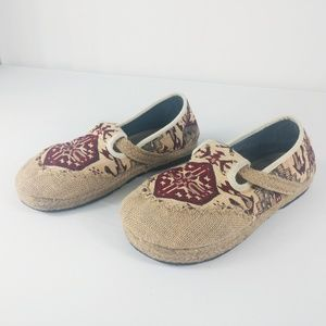 Unique Tribal Aztec Boho Espadrille Loafer Shoes